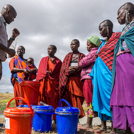 Water Filters for Masai Families